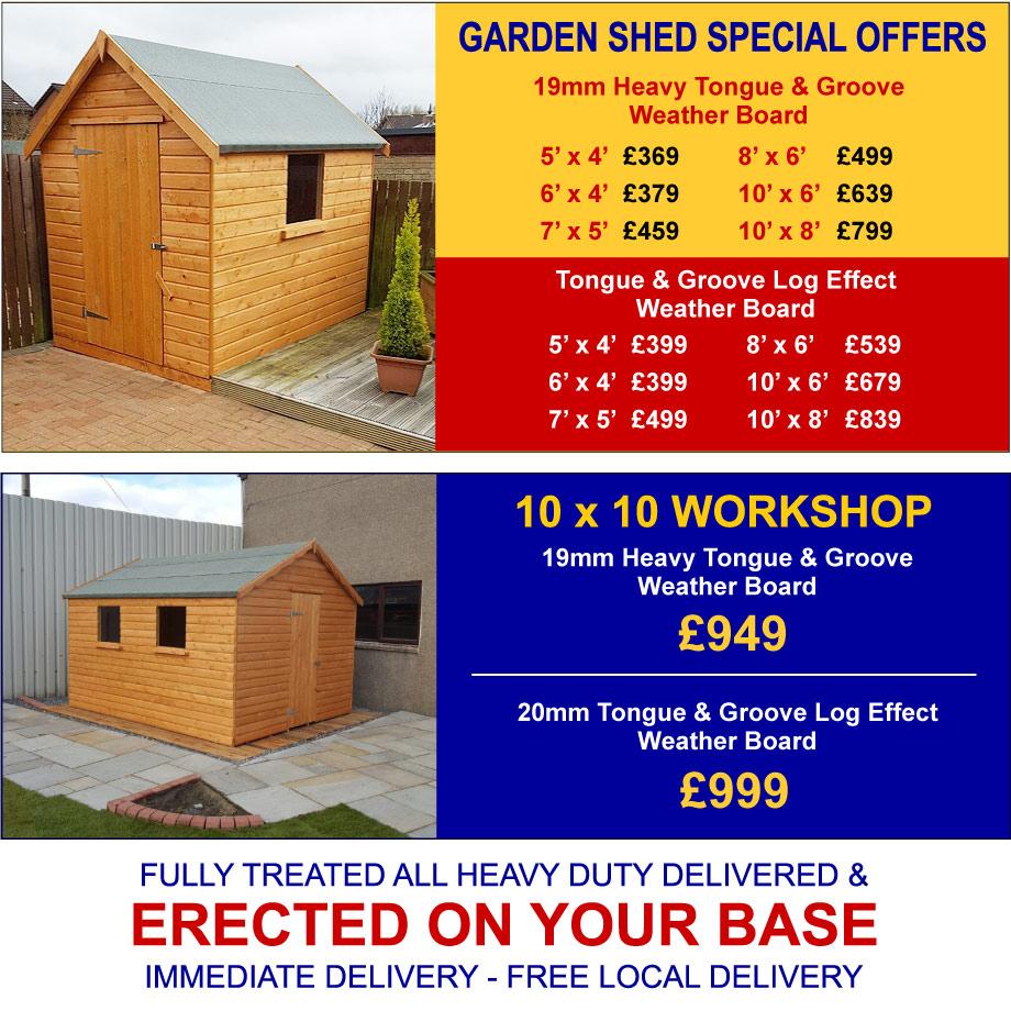 garden sheds glasgow - Garden Sheds Glasgow
