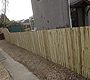 Timber Fencing Lenzie