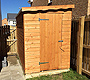 Pent Roof Wooden Sheds Bearsden