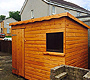 Pent Roof Wooden Sheds Newton Mearns