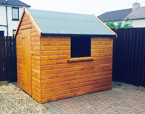 quality bespoke garden sheds delivered installed throughout scotland - Garden Sheds Scotland