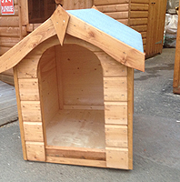 Wooden Dog Kennel Scotland