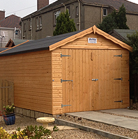 Wooden Garages Scotland