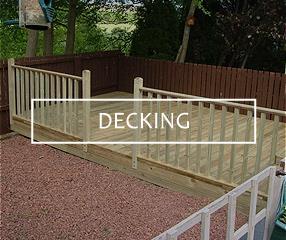 Garden sheds glasgow fencing airdrie elite fencing and for Garden decking glasgow